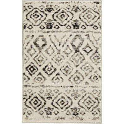 Tribal Essence Ivory 2 ft. x 3 ft. Scatter Area Rug