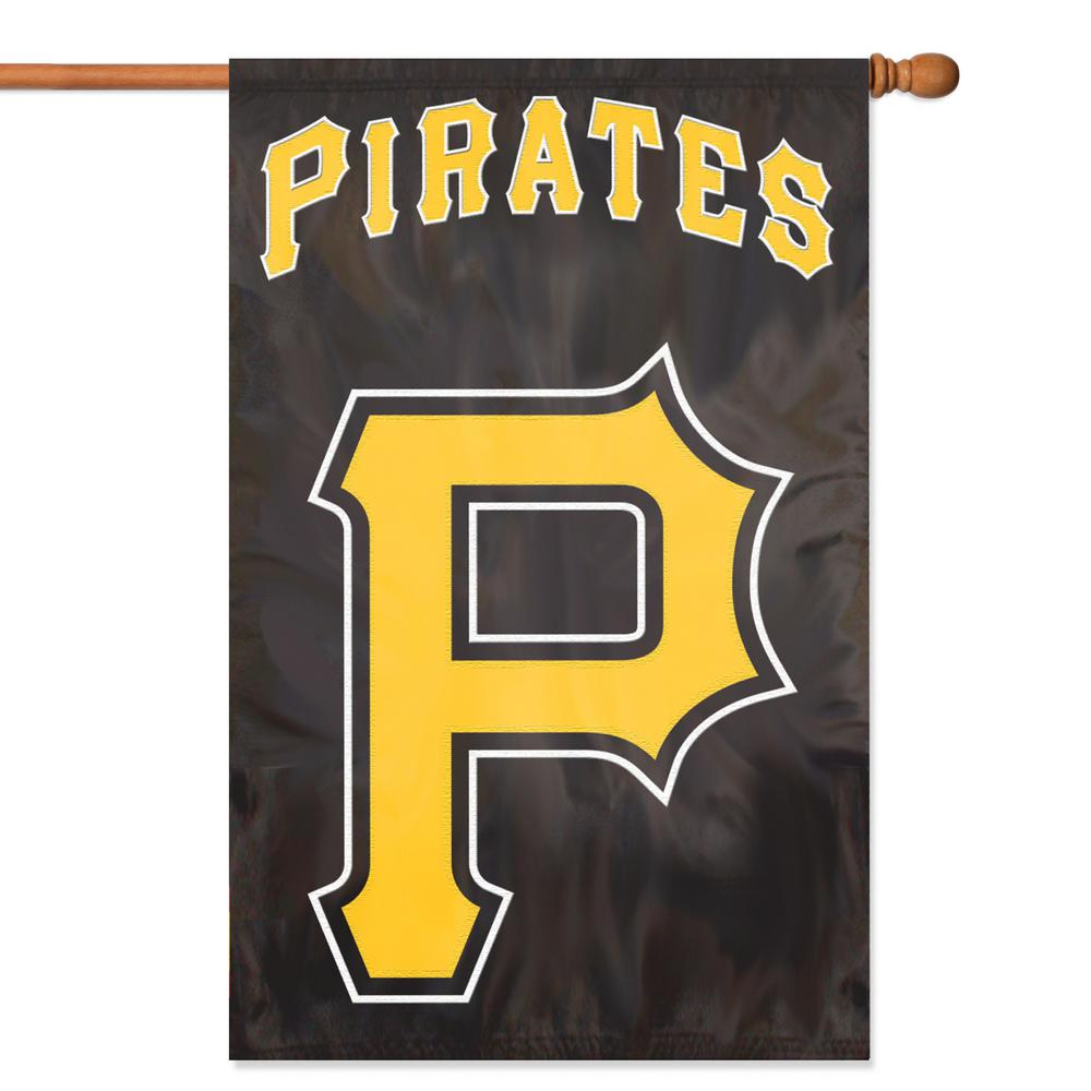 Party Animal Pittsburgh Pirates Applique Banner Flag P-AFPIP2 - The ...