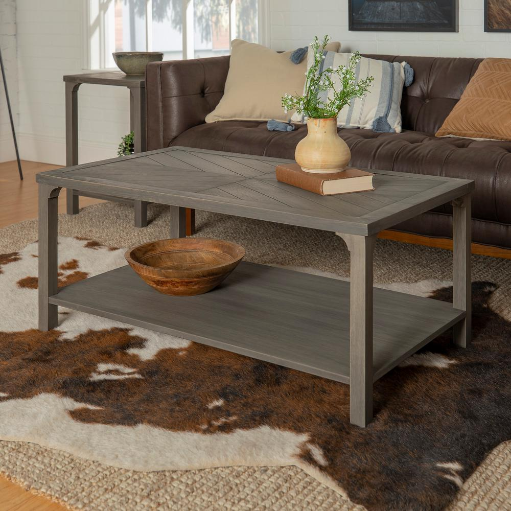 Walker Edison Furniture Company Grey Modern Farmhouse
