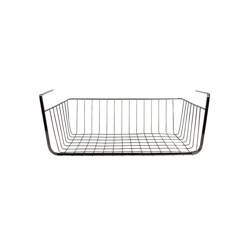 home basics large equinox under shelf basket sb44518 the. Black Bedroom Furniture Sets. Home Design Ideas