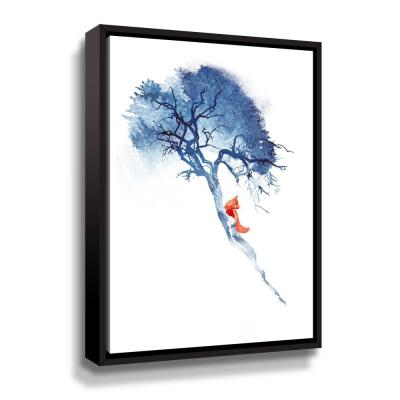 'There's no way' by  Robert Farkas Framed Canvas Wall Art