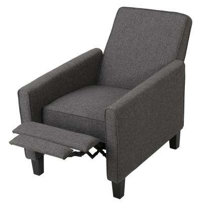 Darvis Smokey Grey Fabric Recliner