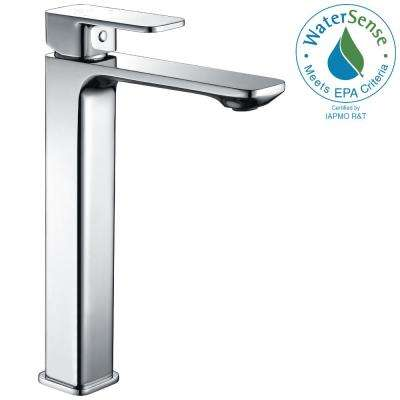 Vibra Single Hole Single-Handle Bathroom Faucet in Polished Chrome