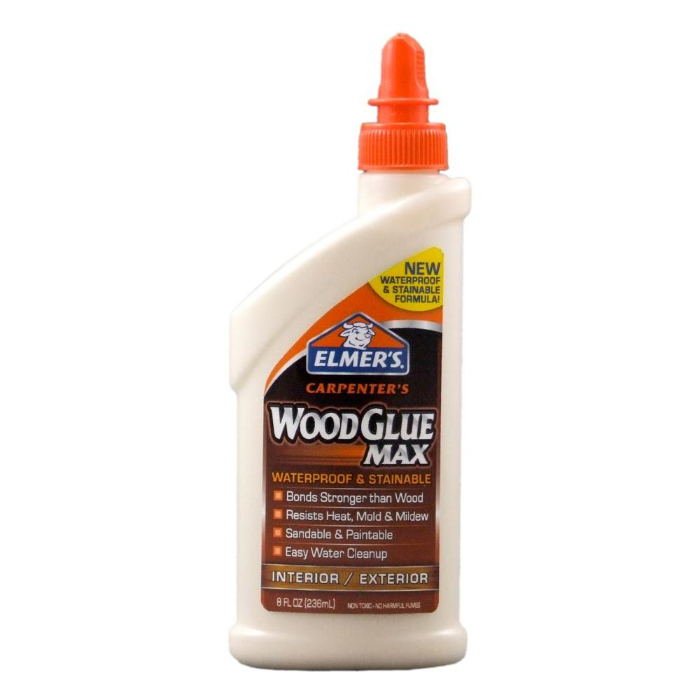 Elmer's 8 oz. Carpenters Wood Glue Max