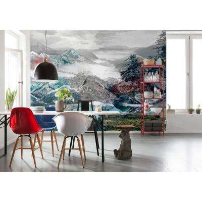 Up and Down Wall Mural