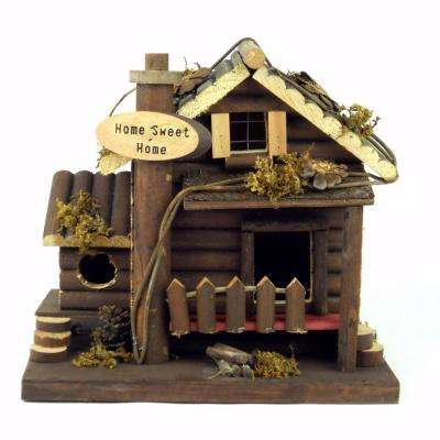 Home Sweet Home Fairy Garden/Bird House