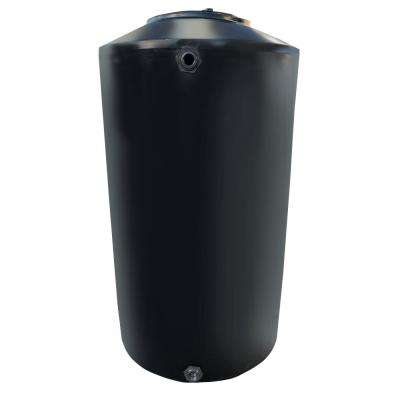500 Gal. Black Vertical Water Storage Tank