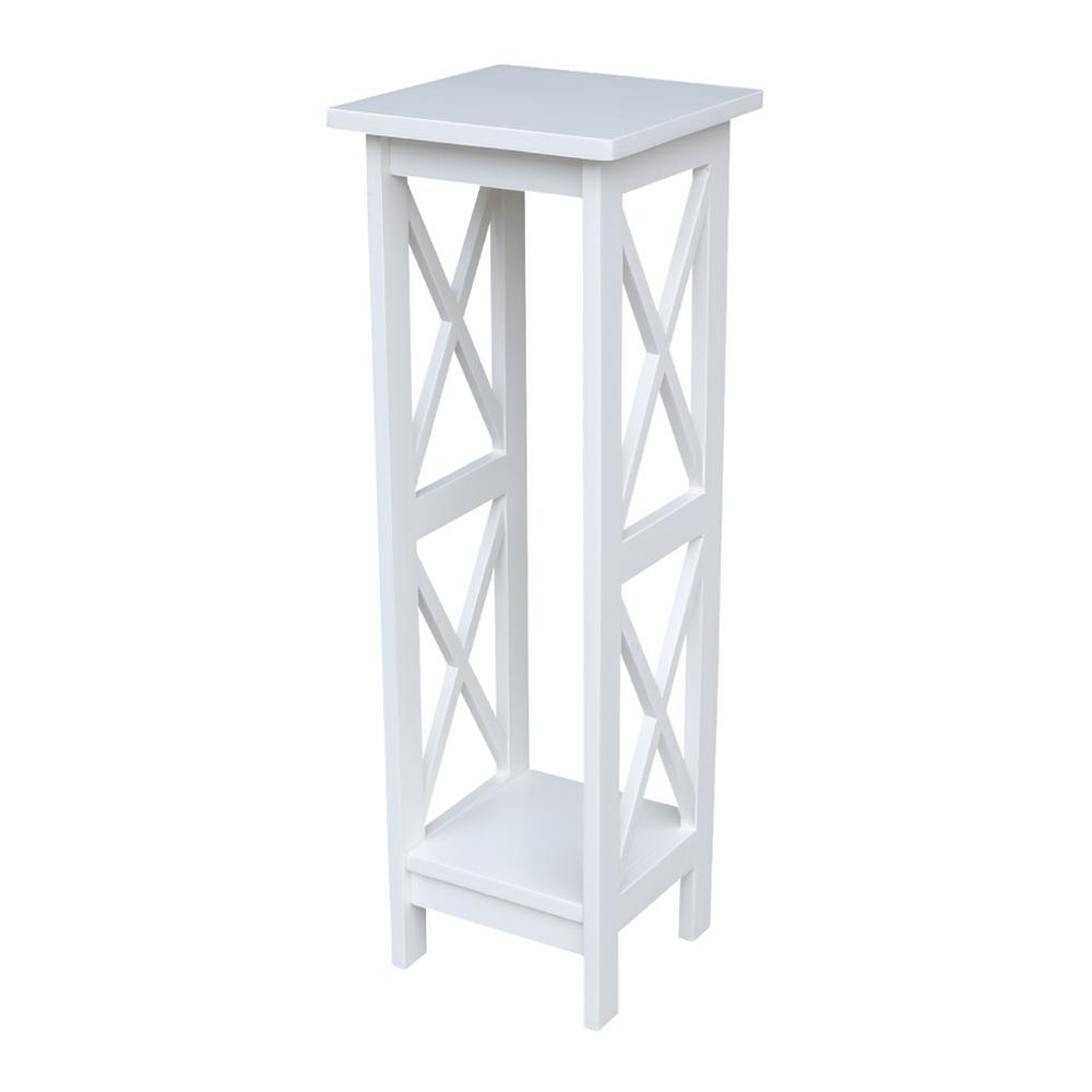 H White Plant Stand