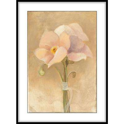 """9.75 in. x11.75 in. """"Inspirational Poppies""""Framed Wall Art"""