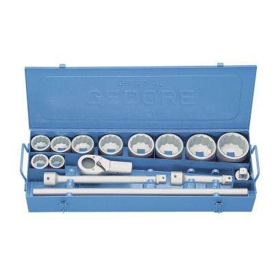 1.1/2 in. to 3 in. Socket Set (15-Piece)