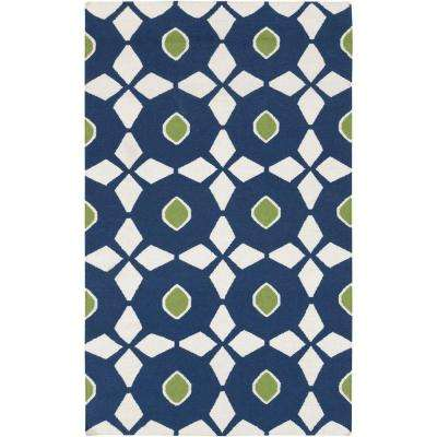 Frontier Navy 2 ft. x 3 ft. Indoor Area Rug
