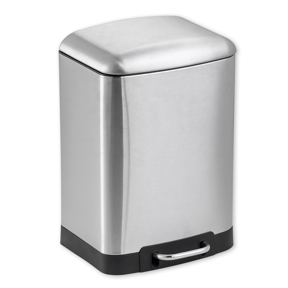 1.58 Gal. Stainless Steel Soft Close Trash Can