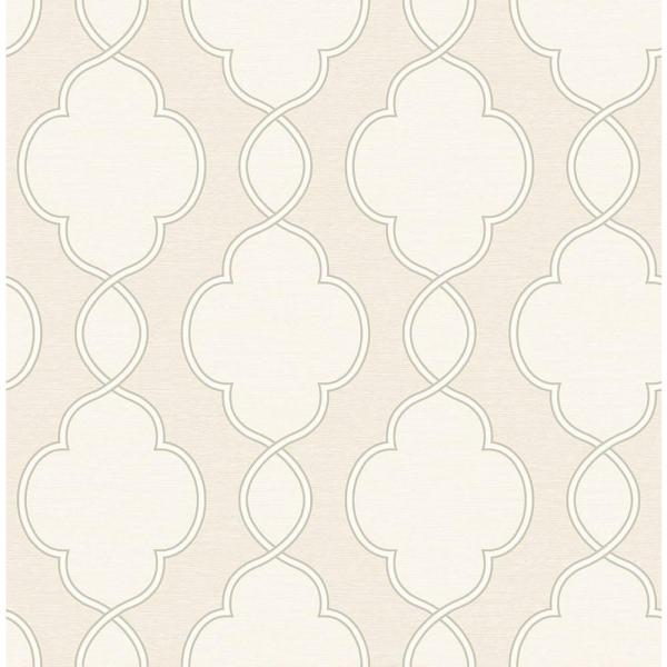 A-Street Structure Cream Chain Link Wallpaper 2625-21822