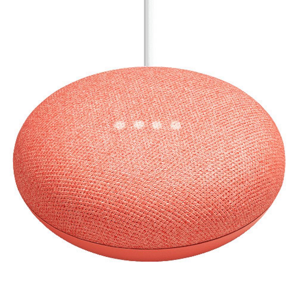43561ee8275da Google Home Mini Coral-GA00217-US - The Home Depot