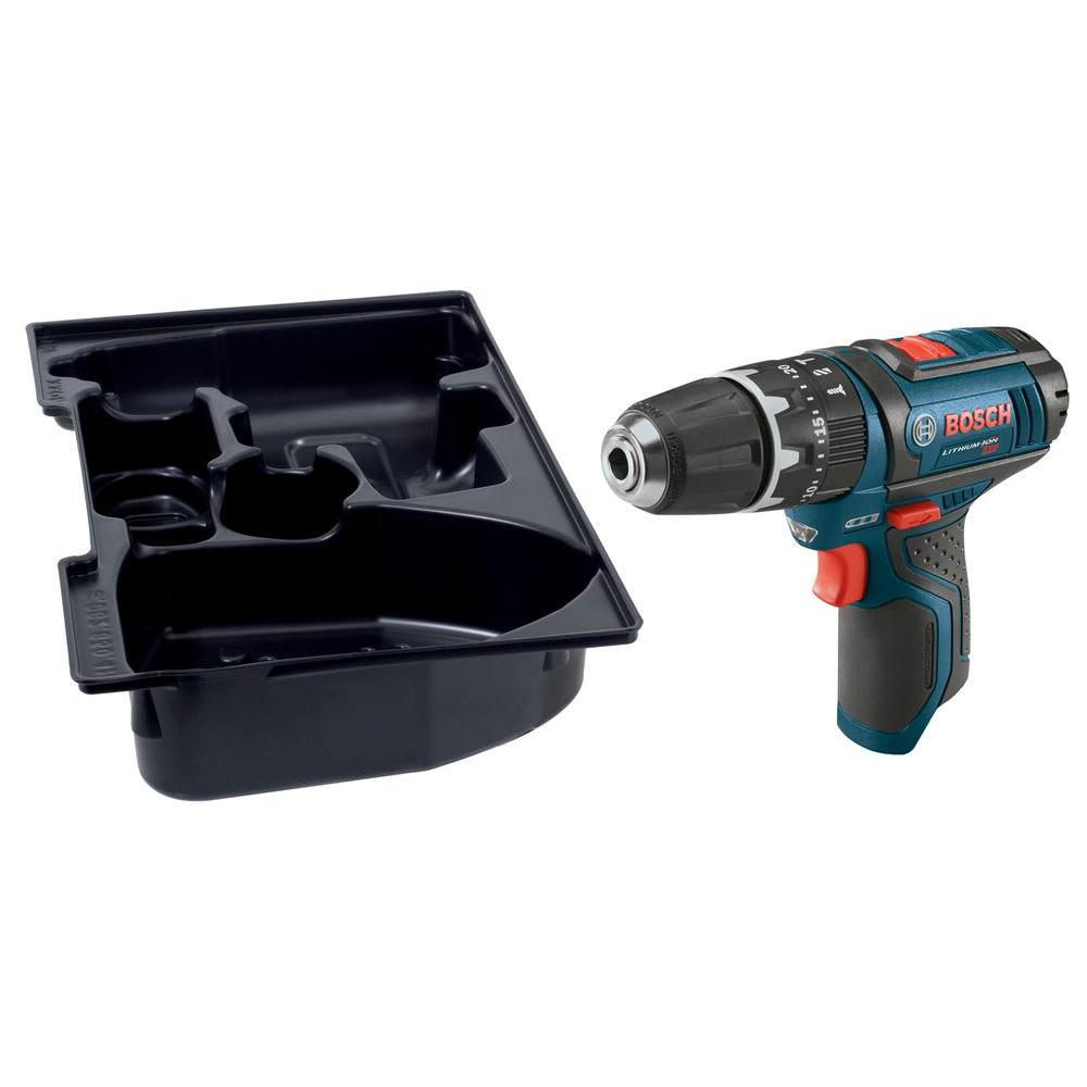 12 Volt Lithium-Ion Cordless 3/8 in. Variable Speed Hammer Drill/Driver with