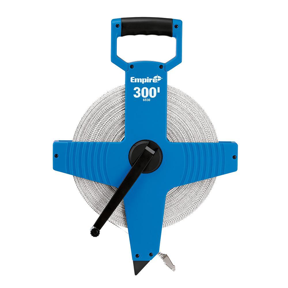300 ft. Open Reel Fiberglass Tape Measure