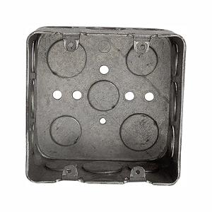 2-Gang New Work Square Device Electrical Wall Box (Case of 10)