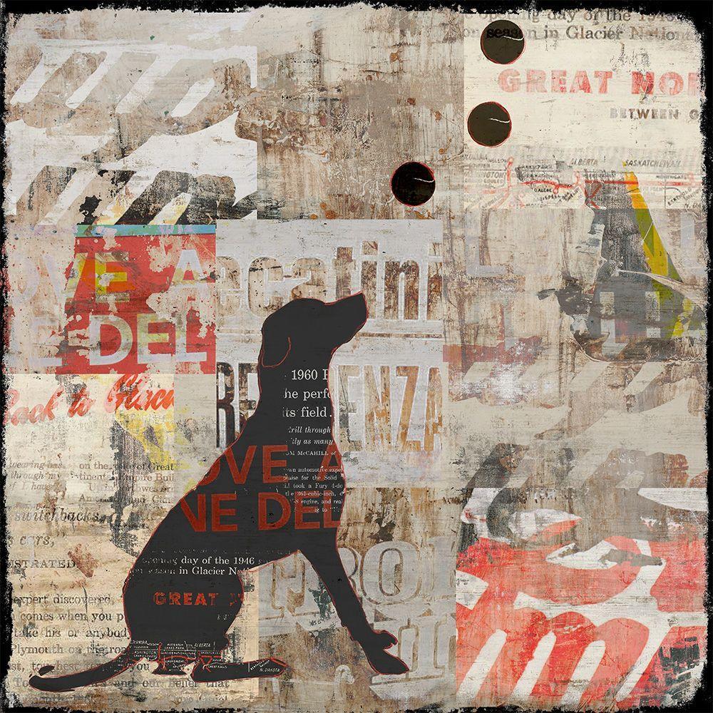 """24 in. x 24 in. """"Trix I"""" by Sofia Fox Gallery"""
