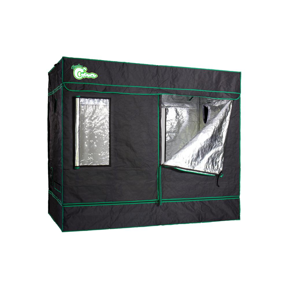 Hydro Crunch Heavy Duty Grow Room Tent 8 ft. x 4 ft. x 6.5 ft.-D940008900 - The Home Depot  sc 1 st  Home Depot & Hydro Crunch Heavy Duty Grow Room Tent 8 ft. x 4 ft. x 6.5 ft ...