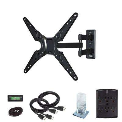 Full Motion Wall Mount Kit for 26 in. to 55 in. Flat Panel TVs