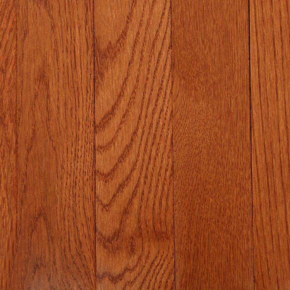 Bruce American Originals Copper Dark Red Oak 34 in T x 2 14 in W