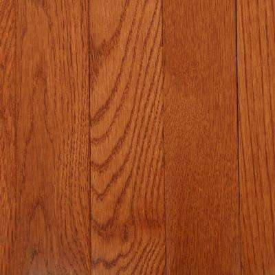 American Originals Copper Dark Red Oak 3/4 in. T x 2-1/4 in. W x Varying L Solid Hardwood Flooring (20 sq. ft. / case)