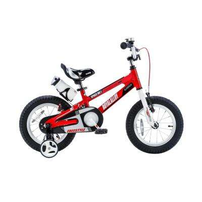 12 in. Wheels Space No. 1 Kid's Bike, Boy's Bikes and Girl's Bikes, Light Weight Aluminum with Training Wheels in Red