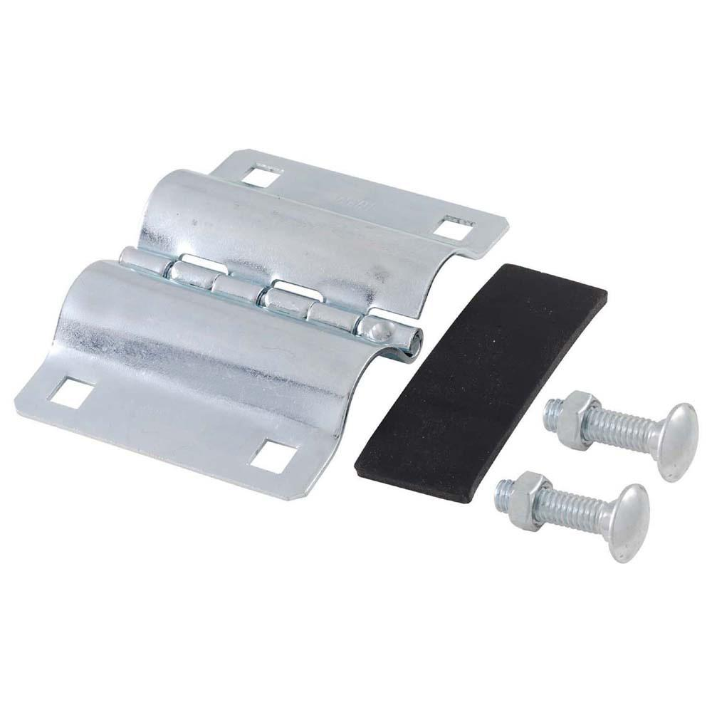1 in. I.P.S. Pipe Galvanized Iron Repair Clamp
