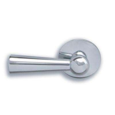 Front Mount Toilet Tank Lever in Polished Nickel