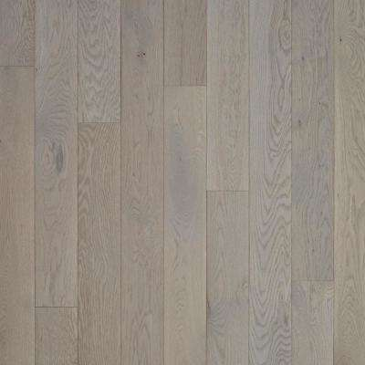 Plano Low Gloss Shale Oak 3/4 in. Thick x 5 in. Wide x Varying Length Solid Hardwood Flooring (23.5 sq. ft./case)