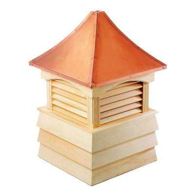 Sherwood 22 in. x 30 in. Wood Cupola with Copper Roof