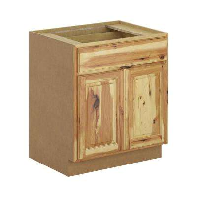 Madison Assembled 30x34.5x24 in. Base Cabinet in Hickory