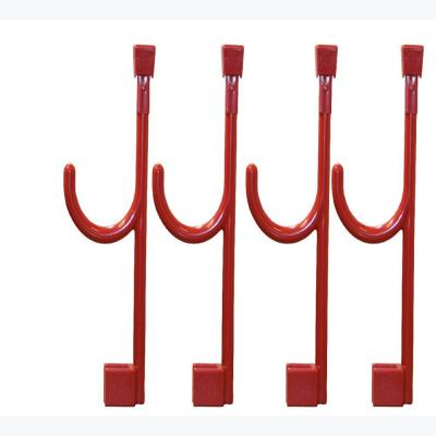 4 Extended Universal Hooks In Chili Pepper Red