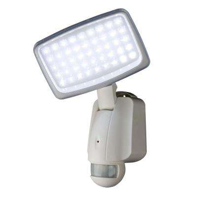 160 Degree Outdoor Motion Activated Solar Powered White LED Security Light