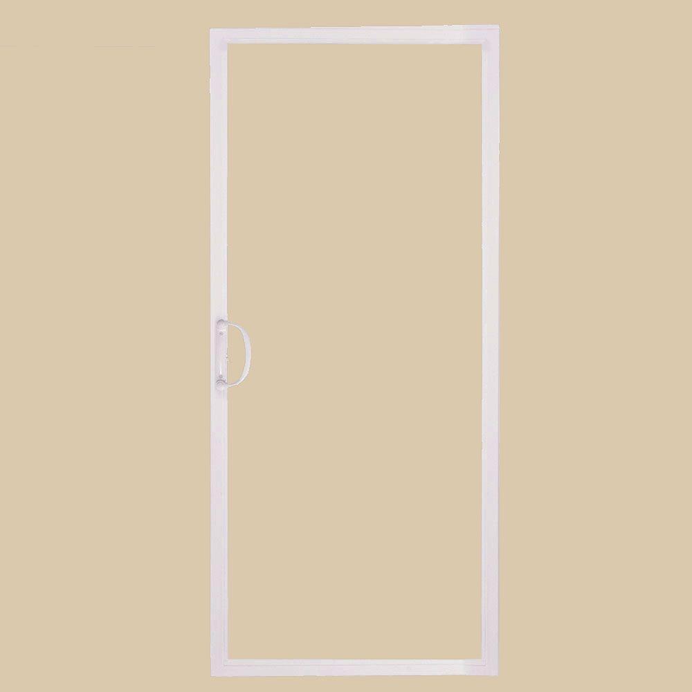 Delightful American Craftsman 72 In. X 80 In. 50 Series White Vinyl Sliding Patio Door