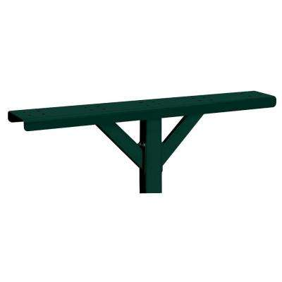 5-Wide Spreader with 2 Supporting Arms for Rural Mailboxes and Townhouse Mailboxes, Green