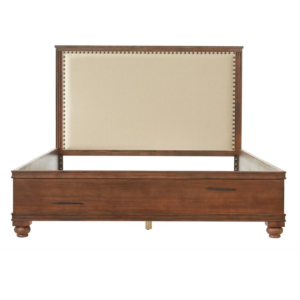 Home Decorators Collection Cambridge Rustic Brown King Bed