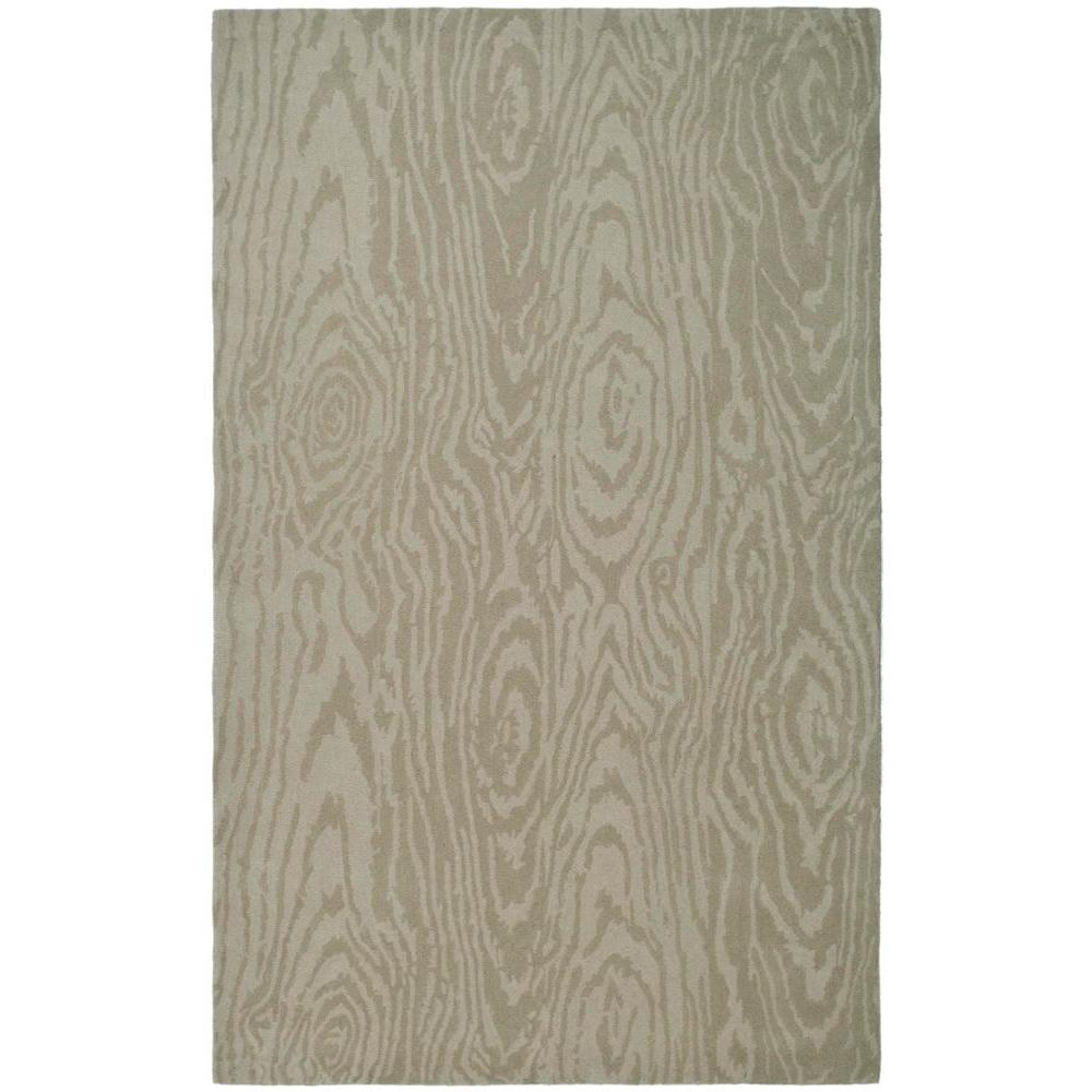 Martha Stewart Living Layered Faux Bois Potter's Clay 8 ft. x 10 ft. Area Rug