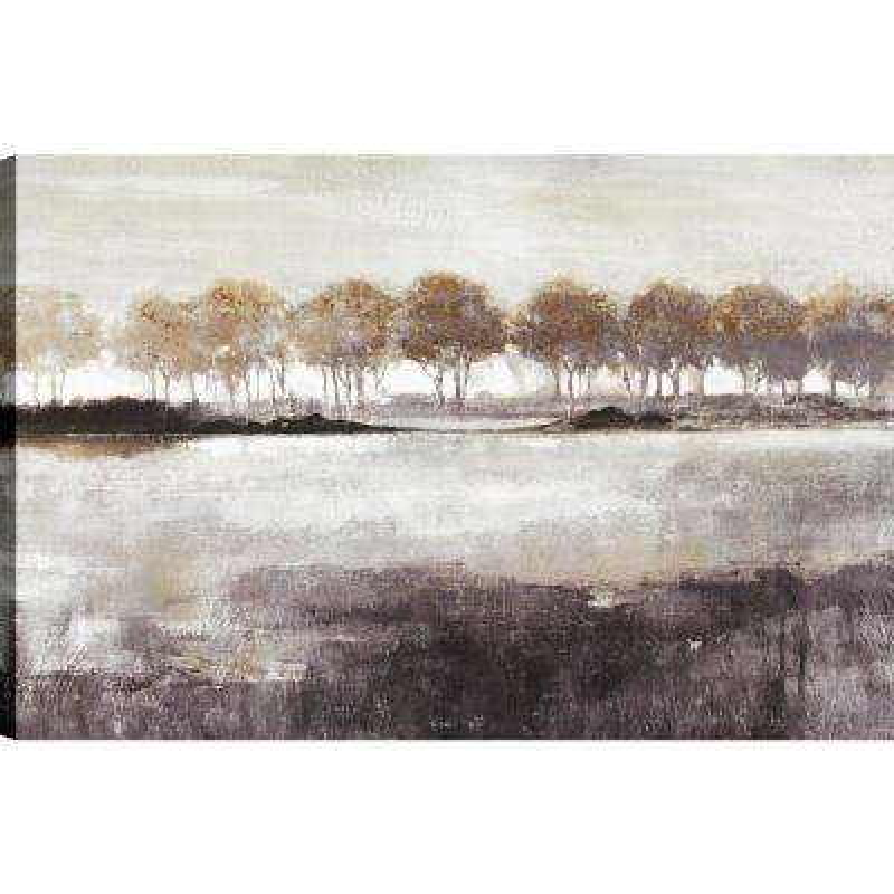 Landscape Dust I, Landscape Art, Canvas Print Wall Art Dcor 24X36 Ready to hang by ArtMaison.ca