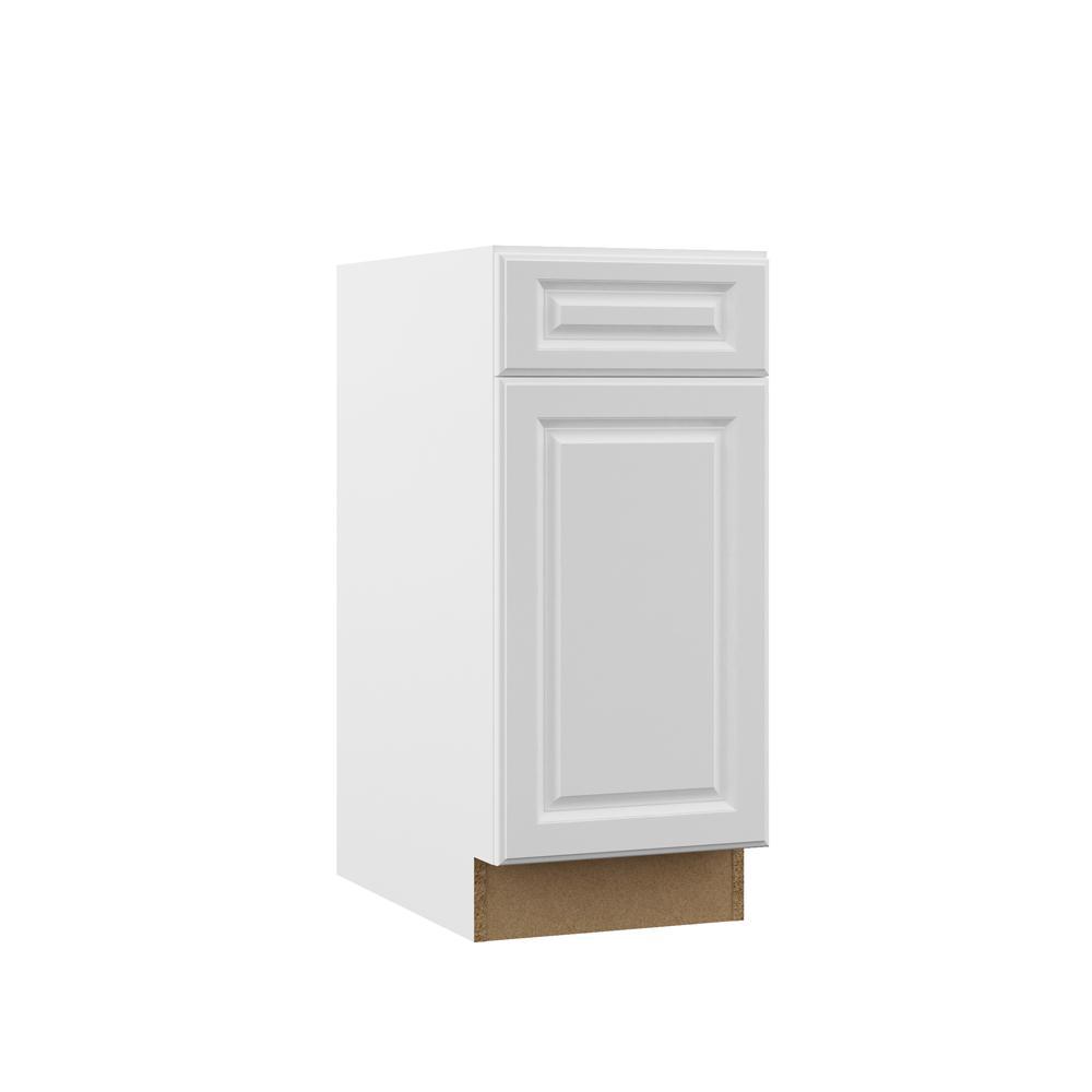 Hampton Bay Kitchen Cabinets White: Hampton Bay Designer Series Elgin Assembled 15x34.5x23.75