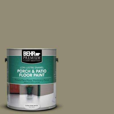 1 gal. #PFC-34 Woven Willow Low-Lustre Interior/Exterior Porch and Patio Floor Paint
