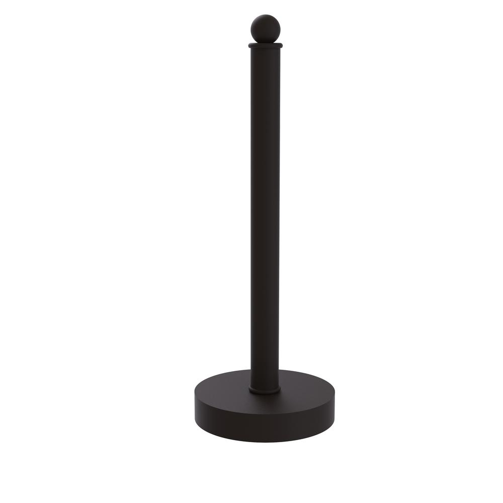Contemporary Counter Top Kitchen Paper Towel Holder in Oil Rubbed Bronze