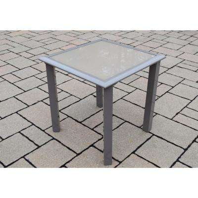 Metal Beige Outdoor Side Tables Patio The