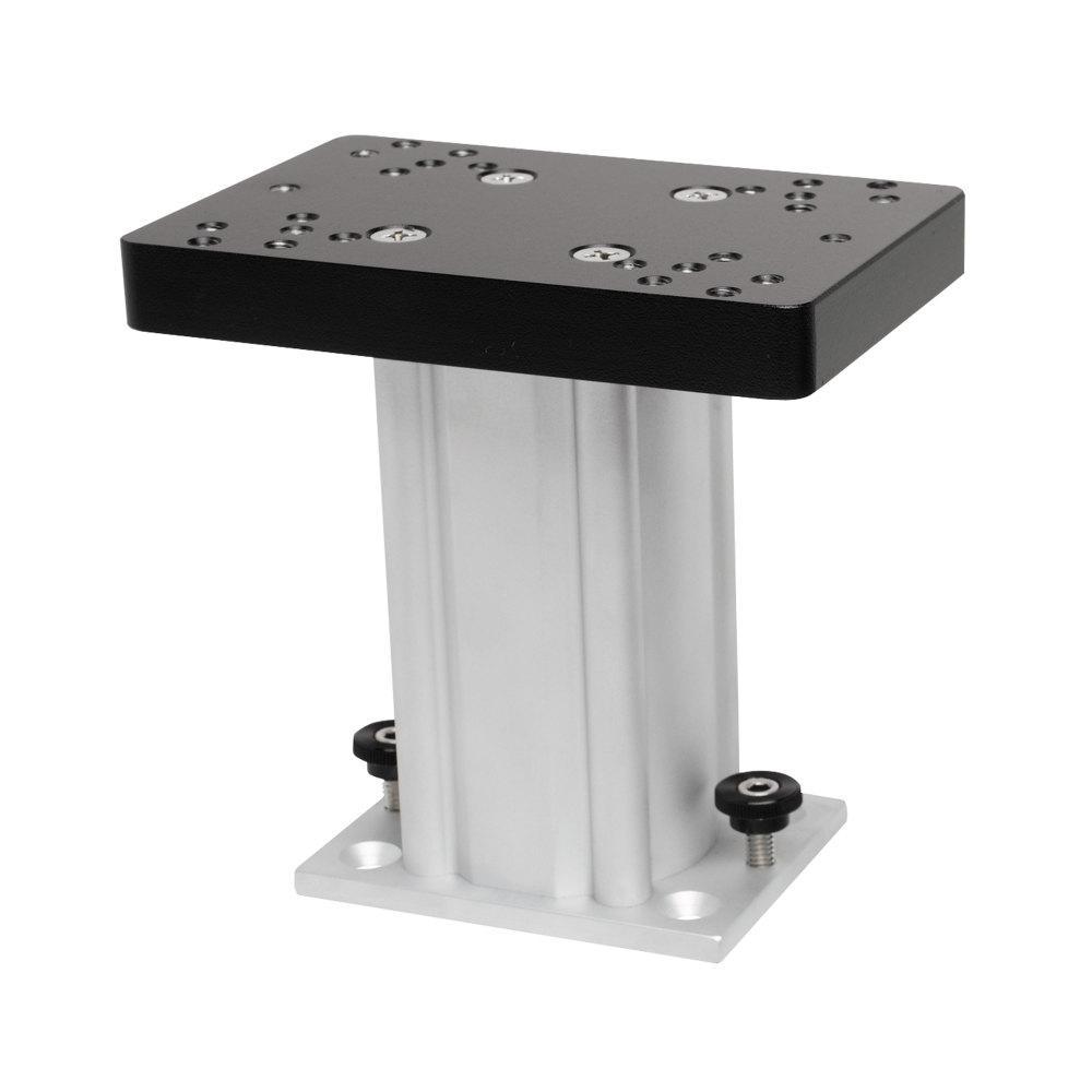 6 in. Aluminum Fixed Base Downrigger Pedestal