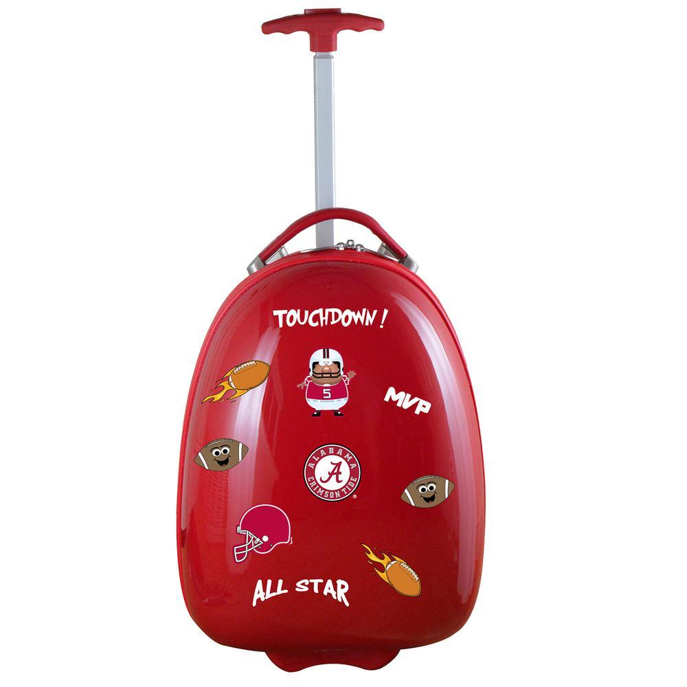 NCAA Alabama Red 18 in. Kids Pod Luggage