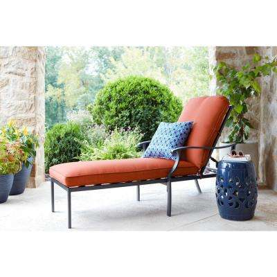 Redwood Valley Outdoor Chaise Lounge with Cushions Included, Choose Your Own Color
