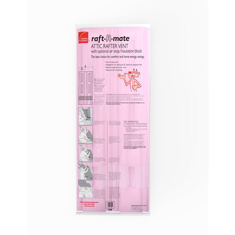 How To Install Owens Corning Raft R Mate Attic Rafter