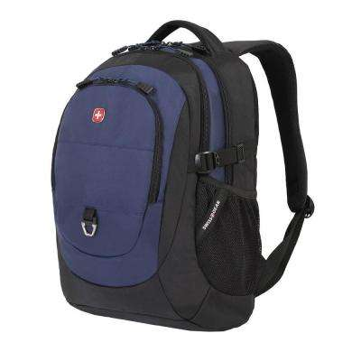 18 in. Black and Navy Backpack