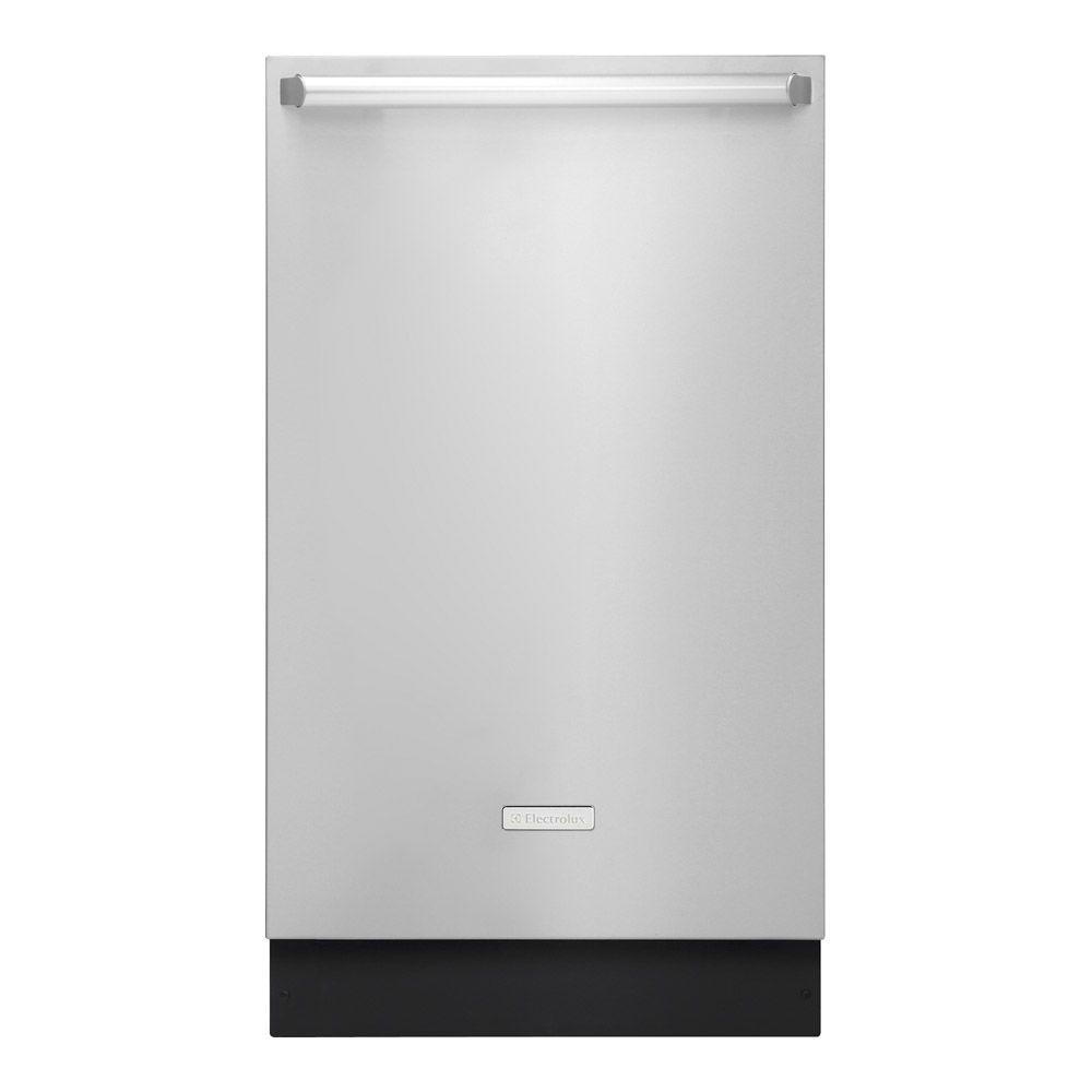 Electrolux Iq Touch 18 In Top Control Dishwasher In Stainless Steel