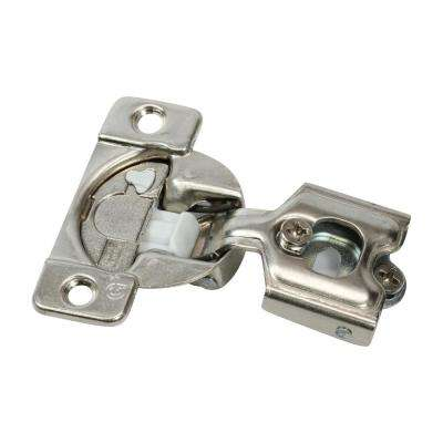 1/2 in. (35 mm) Overlay 108-Degree Soft Close Face Frame Cabinet Hinge (25-Pack)